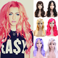 New Sexy Women Ladies Fancy Dress Synthetic Wig Shiny 10 Colors Cheap Deal For Women Ladies Cosplay Party Costume Play