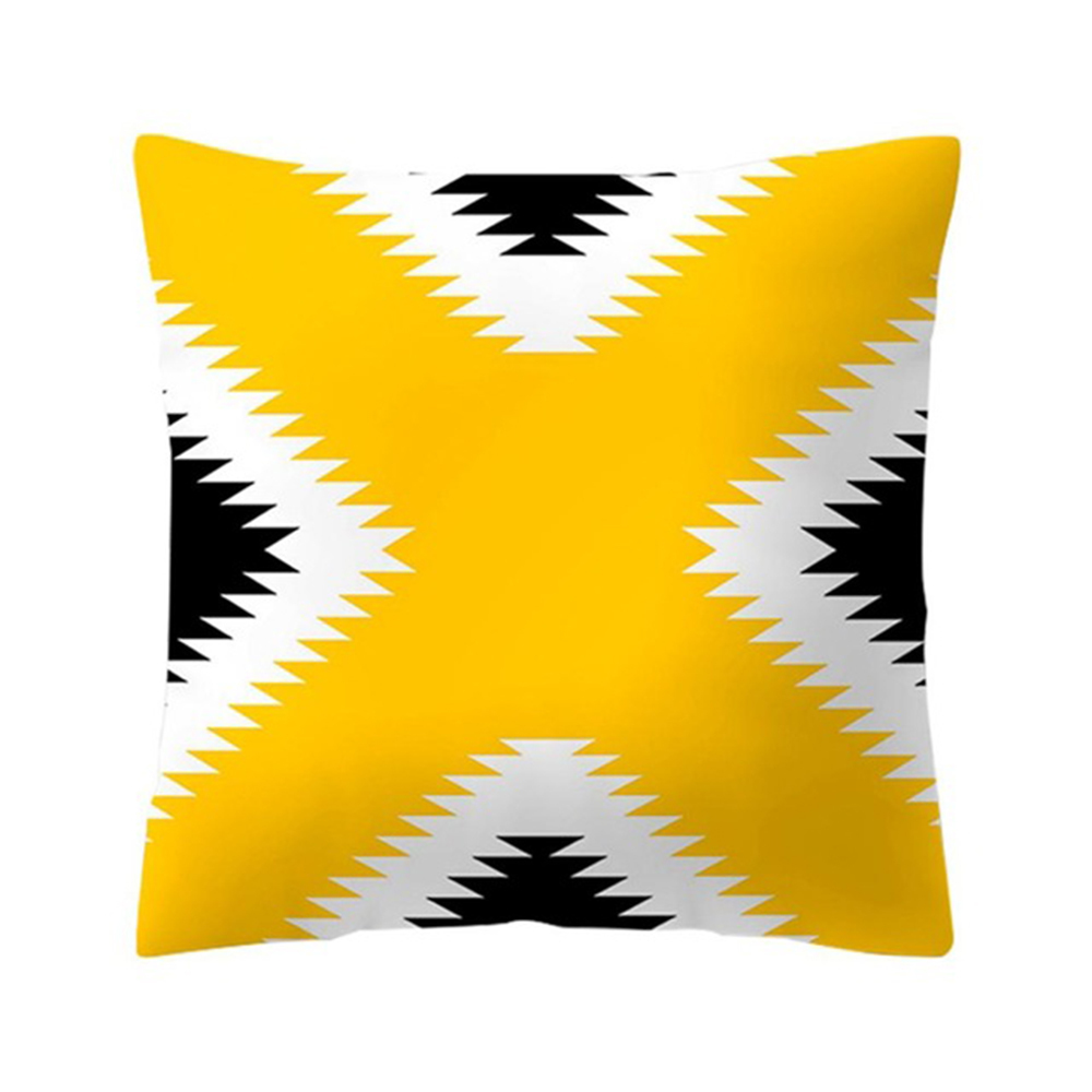 HTB1sNLuXwKG3KVjSZFLq6yMvXXar Polyester Geometric Cushion Yellow Pineapple Pillow Decorative Cushion for Sofa DIY Printed Pillow Seat Chair Cushion