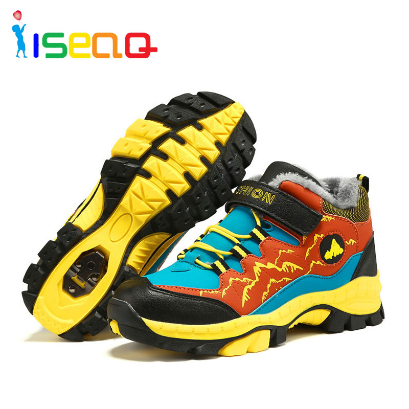 toddler boots boy winter shoes for boys,Big boy outdoor sneakers hiking shoes for boys,plush snow boots winter shoes EUR 30-40 цена