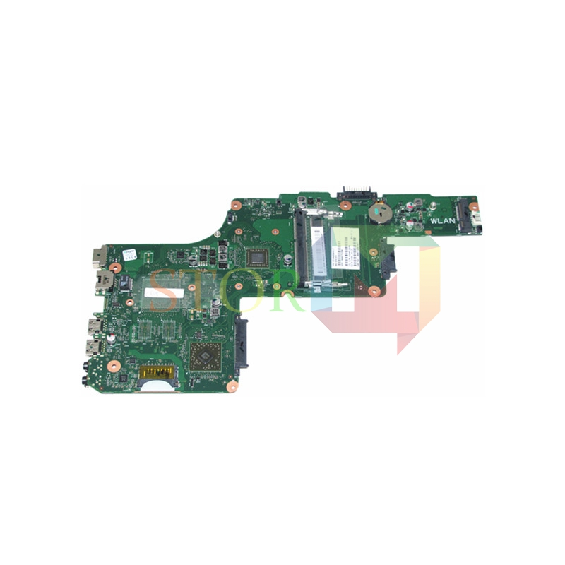 NOKOTION for toshiba satellite C855D laptop motherboard 15.6'' V000275390 E300 CPU DDR3 nokotion genuine h000064160 main board for toshiba satellite nb15 nb15t laptop motherboard n2810 cpu ddr3