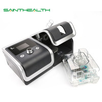 GII CPAP Machine Portable Quiet Respirator For Sleep Snoring Apnea With Nasal Face Mask Humidifier Filter Plastic Hose Bag
