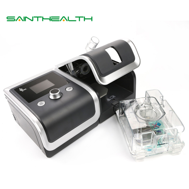 GII CPAP Machine Portable Calme Respirateur Pour Sommeil Ronflement Apnée Avec Nasale Visage Masque Humidificateur Filtre En Plastique Tuyau Sac