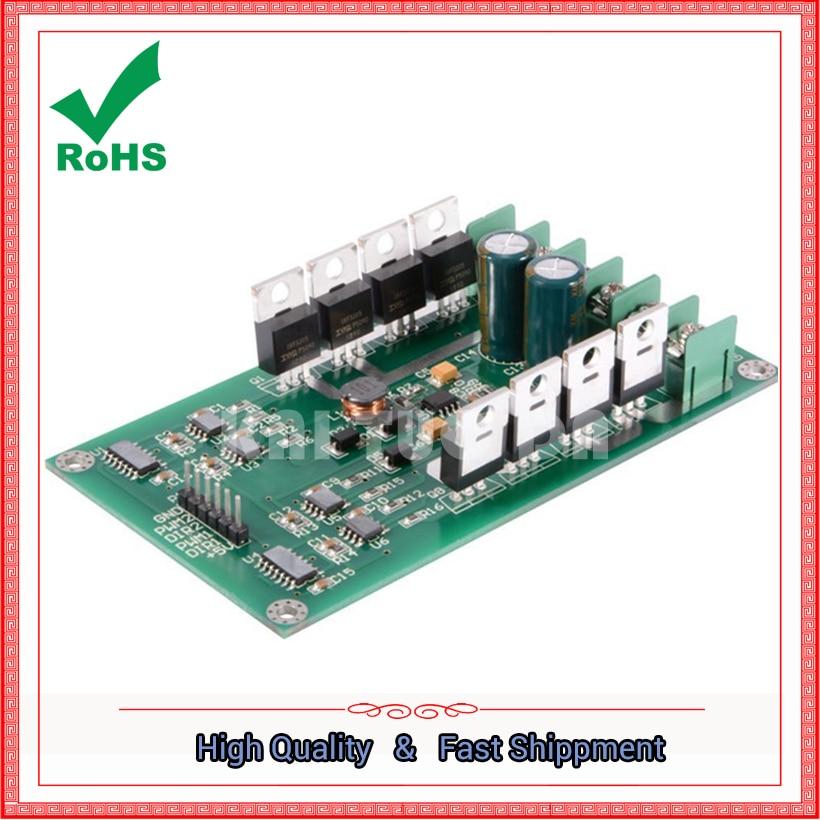 10A dual motor drive module high power H bridge strong braking function DC motor drive plate board
