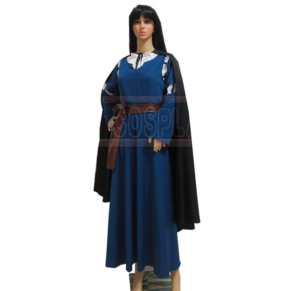 2017 Exclusive Brave Principessa Merida Dress Cosplay Costume Per Le Donne Custom Made Moderno Ed Elegante Nella Moda