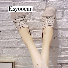 Marke Ksyoocur 2020 Neue Damen Hausschuhe Schuhe Casual Frauen Schuhe Komfortable Frühling/herbst/sommer Frauen Hausschuhe Schuhe X02