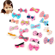5 Pcs Cute Hair Accessories Hairgrip Headwear Boutique Barrettes For Children Baby GIrls Hair Clip Bows Hairpins Wholesale 2 pcs 1 pair children baby girls hair accessories clip girls hairpins barrettes headwear flower hairpin phr0521