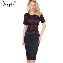 Женское кружевное платье футляр для офиса элегантное винтажное