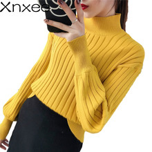 Winter turtleneck sweater 2018 fashion women pullovers and autumn female long sleeve knitted pullover tops