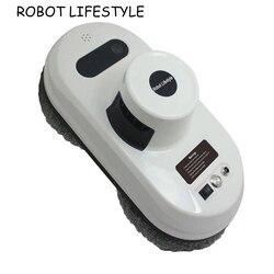 Robot limpiador de ventanas de alta succión Robot aspirador de Control remoto anticaída Robot de ventana