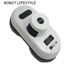 лучшая цена Window Cleaning Robot High Suction Window Cleaner Robot Anti-falling Remote Control Vacuum Cleaner Window Robot