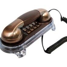 MSQ025 классический античный винтажный колокольчик база светящийся телефон