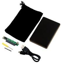 Professional 2.5 inch SATA HDD Box USB 2.0 HDD Hard Drive Disk SATA External Storage Enclosure Box Case