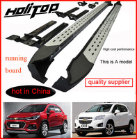 side step bar for Chevrolet TRAX running boards for TRAX,the highest cost performance,high value,promotion 7days only!