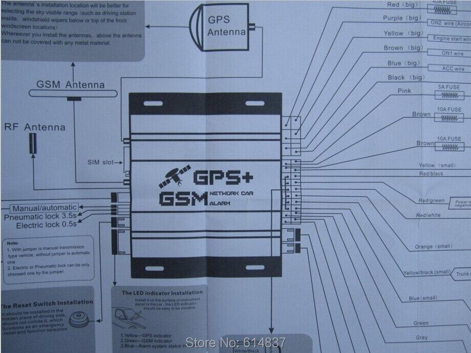 Keyless Remote Engine Start Smartphone Car Alarm System Monitoring ...
