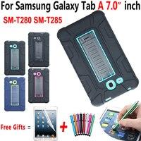 Fall für Samsung Galaxy Tab EINE 7 0 2016 Stoßfest Ständer Kids Safe Abdeckung für Samsung Galaxy Tab A6 7 0 SM-T280 SM-T285 Funda