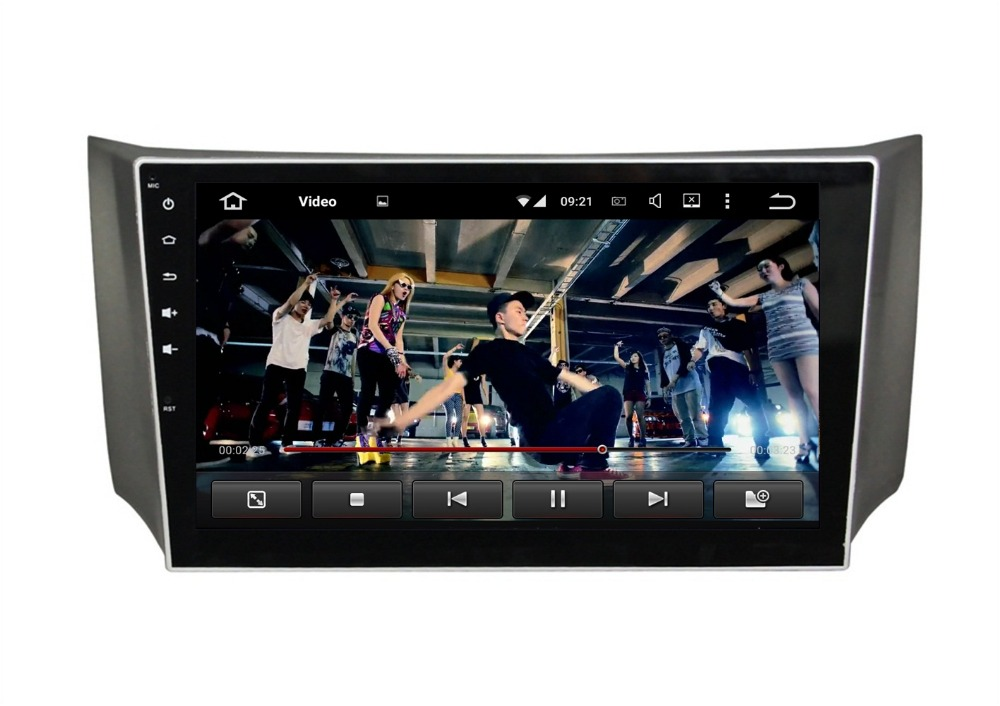 Quad Core 10 1 Android 5 1 Car DVD Player for Nissan Sylphy 2012 2015 With