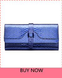 Luxury-Fashion-Women-wallets-long-patent-leather-wallet-purse-lady-clutch-serpentine-