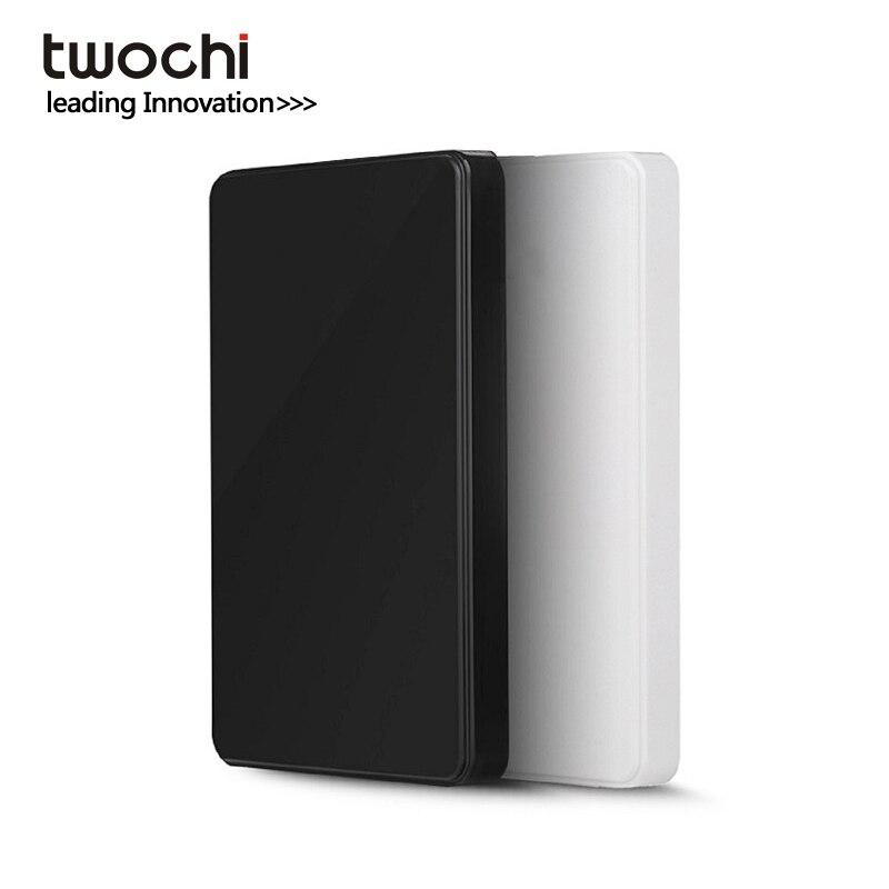 Новые стили twochi A1 Оригинал 2.5 ''внешний жесткий диск 160 ГБ USB 2.0 Портативный HDD хранения диск подключи и играть на продажу