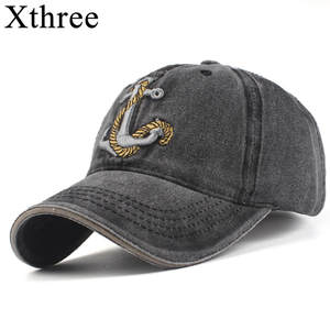 8839b6e46455a Xthree winter cotton snapback baseball cap hat for men