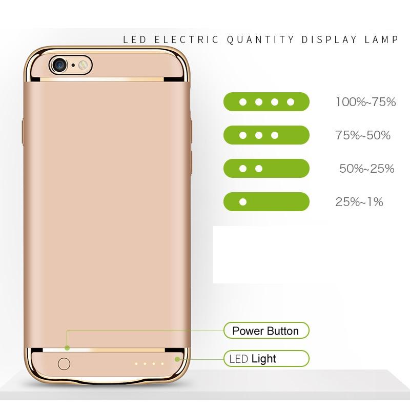 Цена за Дело зарядное устройство 2500 мАч для iphone 7 3500 мАч для iphone7 плюс Банк силы Случае Ультра Тонкий Тонкий Внешняя Батарея Резервного Копирования случае