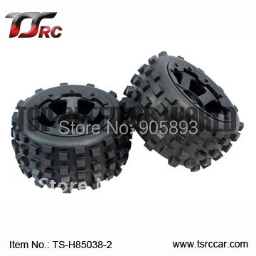 5B Knobby Wheel Set(TS-H85038-2)x 2pcs for 1/5 Baja 5B, SS  , wholesale and retail 5b front sand wheel set ts h85046 x 2pcs for 1 5 baja 5b ss wholesale and retail free shipping