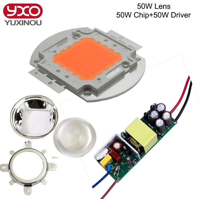 10 stks 3 w full spectrum led licht groeien 380-840nm 1 stks 6-10x3 w - Lamp accessoires - Foto 4