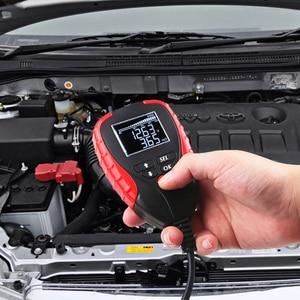 Image 5 - 12V Automotive Load Battery Tester Digital Analyzer of Battery Life Percentage Voltage Resistance and AH CCA Value