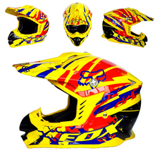 Grado superior Zorro Motocross Casco de Moto Capacete casco Off Road Casco