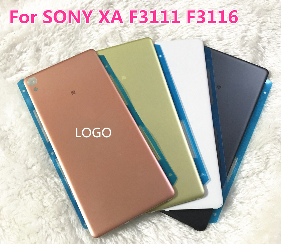 For Sony Xperia XA F3111 F3113 F3115 Back Battery Cover Rear Door Shell Housing Case
