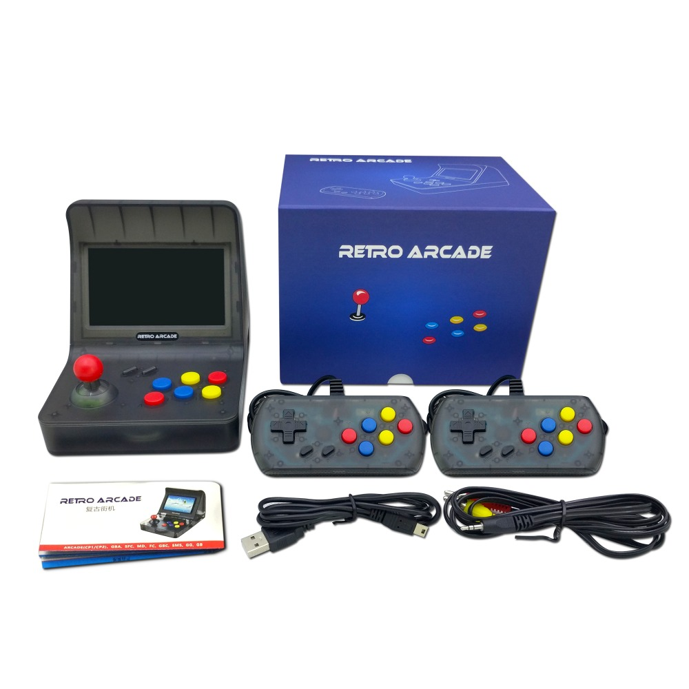 Image 5 - Portable Retro Mini Games Console 64Bit Retro Video Game Console Built In 3000 Games Handheld Game Player Best Gift RETRO ARCADE-in Handheld Game Players from Consumer Electronics