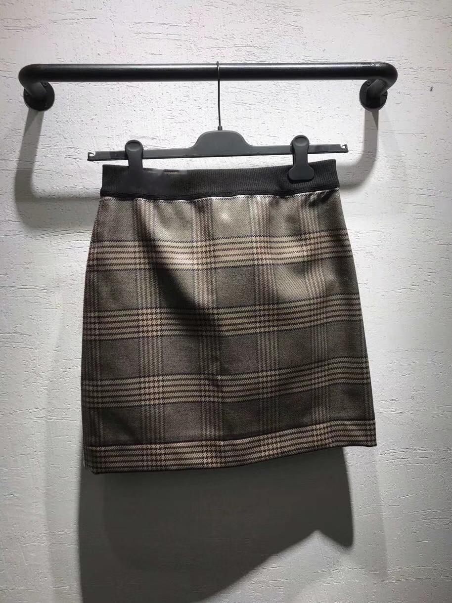 Nueva Muy Para Casual De Cintura Falda Alta Mujeres Verano Geométrica Damas Ropa Dulce USrqU