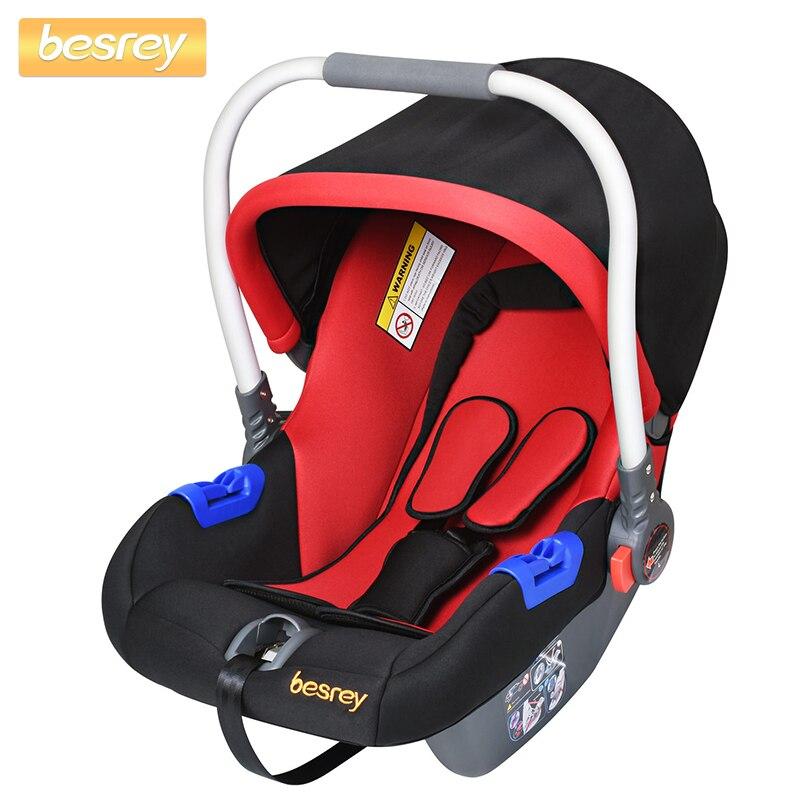 Besrey porte-bébé nouveau-né bébé siège auto sécurité enfant voiture sièges poussette panier 0-13 KG