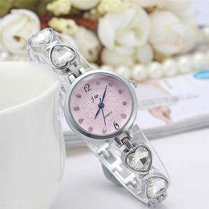 Quartz Bracelet Watch Heart-Strap Wholesale Fashion Women Lady Luxury for 100pcs/Lot