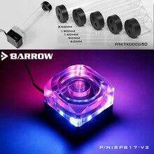 Barrow SPB17 V2, 17w pwm combinação bombas, lrc 2.0, reservatórios wite, precisa de combinação com reservatório para usar