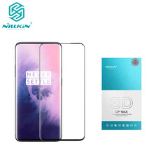 NILLKIN Amazing 3D CP+ MAX Full Coverage Nanometer Anti Explosion 9H Tempered Glass Screen Protector For oneplus 7 pro