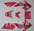 CRF50 pink 3M GRAPHICS decals sticker  for honda moto dirt pit bike xr50 crf50