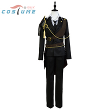Touken Ranbu Shokudaikiri Mitsutada Outfit Armor Belt Coat Gloves Pants Shirt Tie Vest Halloween Party Cosplay Costumes For Men