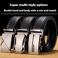 Men's Automatic buckle belt buckle business casual styles with head and body belt Buckle and body are sold separately