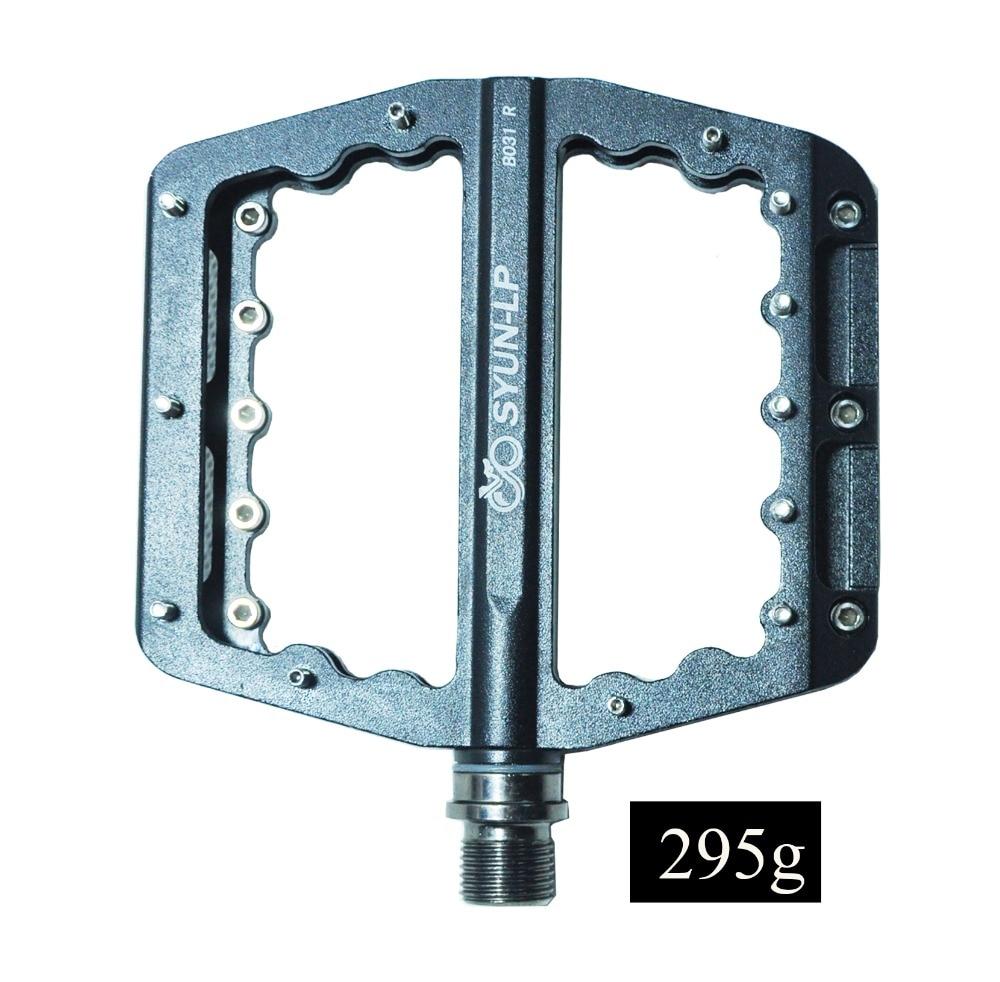 Büyük pedal 031 hafif CNC 295G mühürlü rulman dağ bisikleti pedalı