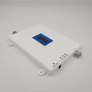Image 5 - 75dB كسب 2 جرام 3 جرام 4 جرام الثلاثي الفرقة الداعم الخلوية GSM 900 + DCS/LTE 1800 + FDD LTE 2600 هاتف محمول مكرر إشارة المحمول مكبر للصوت