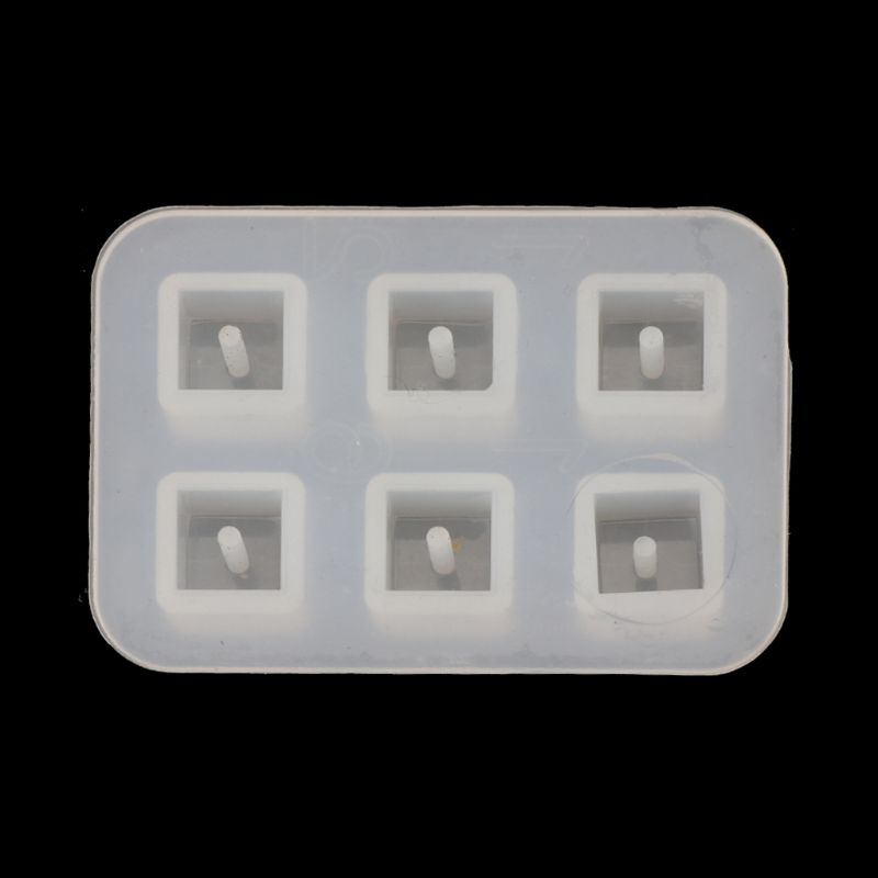 10MM Epoxy Resin Molds Square Beads Silicone Mold Jewelry Casting Mold Jewelry Making