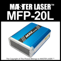 Good Quality MAX PHOTONICS MFP 10W Laser Marking Machine DIY PART Fiber Laser 10w