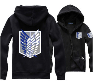 Image 3 - Best Sellers Anime Attack on Titan Cosplay Costumes Hoodie Green Black Scouting Legion Hooded Sweater for Unisex