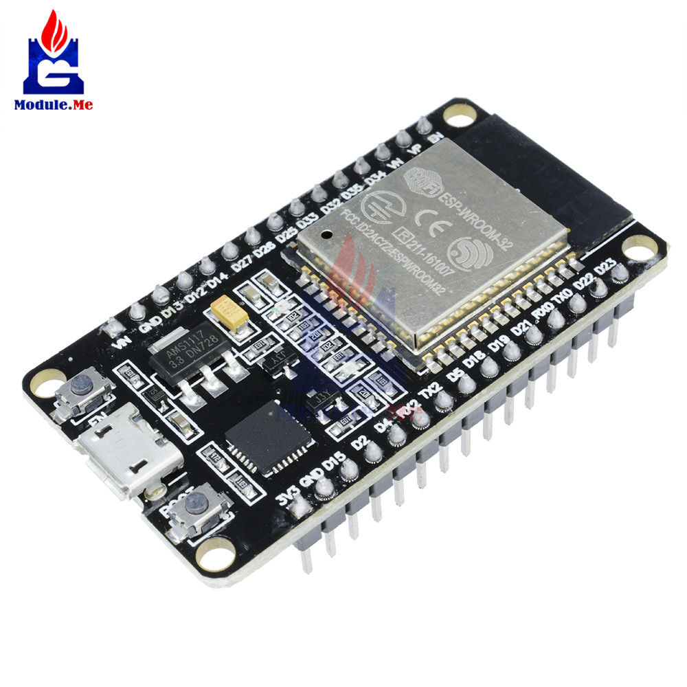 ESP32S ESP-32S ESP32 ESP-32 CP2102 Wireless WiFi Bluetooth Development Board Micro USB Dual Core Power Amplifier Filter Module