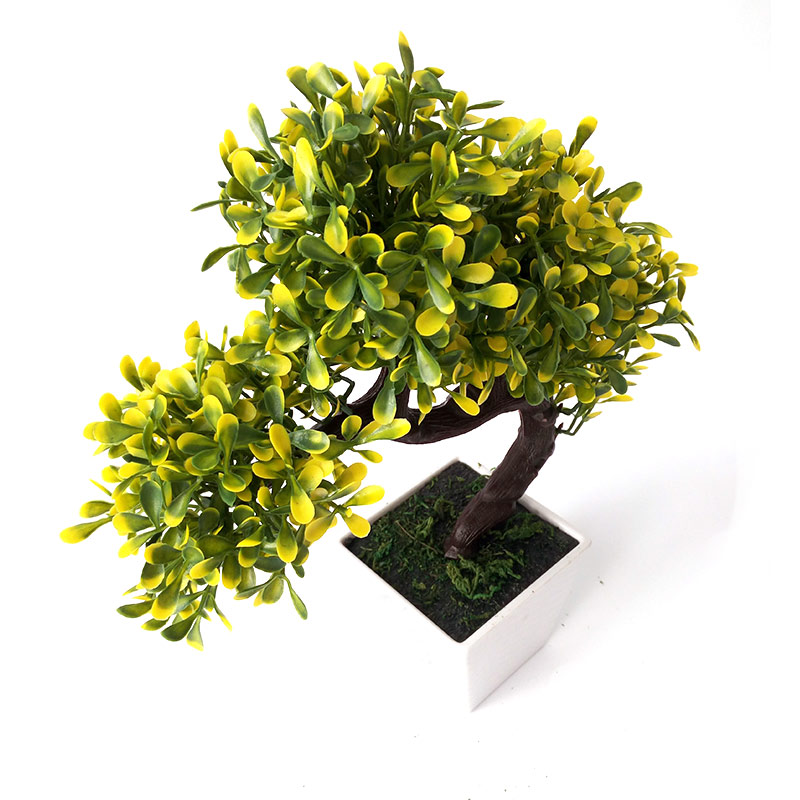 Artificial pine potted bonsai interior plant decoration simulation small plants artificial wedding home
