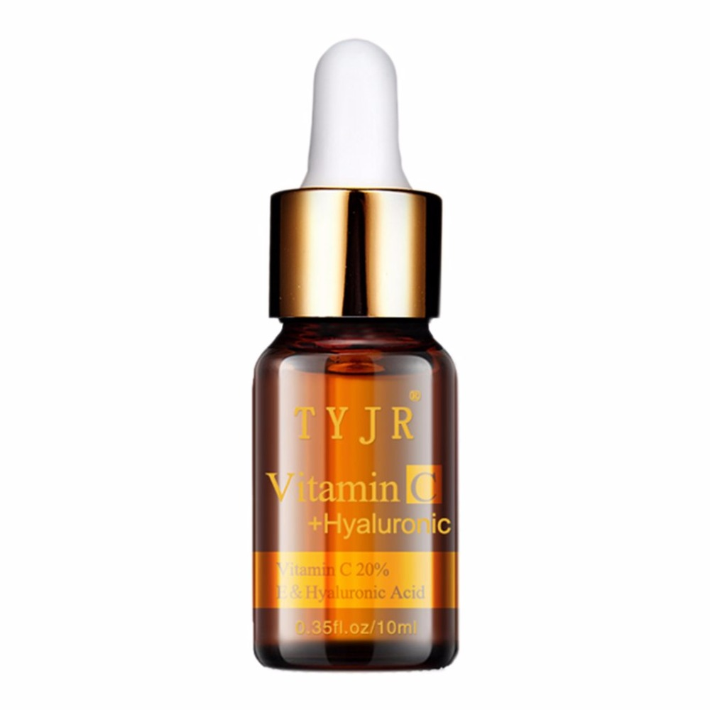 10ml Vitamin C Serum Anti-aging Moisture Anti-Wrinkle Whitening VC Essence Oil Women Beauty Make Up Essential Serum