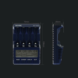 Image 5 - New SKYRC NC1500 5V 2.1A 4 Slots LCD AA/AAA Battery Charger & Analyzer NiMH Batteries Charger Discharge & Refresh