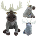 Original Kristoff ReindeerSven Stuffed Animals Plush Toys 15CM Cute Soft Toys For Children Christmas Gift  the elf on the shelf