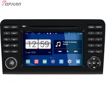 "Free Shipping 7"" Quad Core S160 Android 4.4 Car DVD GPS For ML W164(2005-2012)/GL X164(2005-2012) With Mirror Link 16GB Flash"