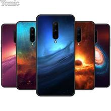 Phone Case for Oneplus 7 7 Pro 6 6T 5T Black Soft TPU Cover Shell for Oneplus 7 7Pro Silicone Case Star Space